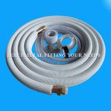 Tubo de cobre con aislamiento de aire acondicionado con Accesorios