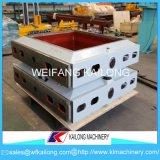 Hohe Präzisions-formenkolben-Formteil-Zeile verwendeter Form-Kasten für Gießerei