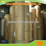 Embalaje de rollos de papel reciclado de papel Kraft Liner de color marrón con bolsa de alta calidad para hacer