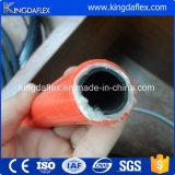 Tubo flessibile idraulico del combustibile di rinforzo poliestere di alta qualità due