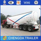 del cemento 3axle del petrolero del cemento de Bulker del petrolero acoplado a granel del carro semi para la venta