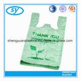 HDPE & LDPE Plastic het Winkelen van de T-shirt Zak voor Supermarkt
