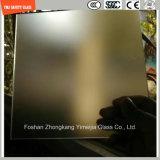 Sérigraphie 3-19mm/acide Etch/Frosted/motif plat/refoulées tempérée/Le verre trempé pour l'hôtel, maison de porte/fenêtre/Écran de douche avec SGCC/Ce&CCC-Certificat ISO