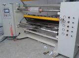 Control por computadora automática horizontal máquina cortadora longitudinal para rodar la película plástica