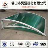 installation facile de tente de polycarbonate de 1000*1200mm de bâti de balcon d'écran de matériaux extérieurs en aluminium solides de Buliding