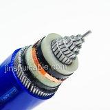 kabel van de Macht van de Kabel van de Isolatie 0.6/1-26/35kv XLPE de Gepantserde
