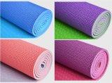 Logotipo personalizado colorido 4-10mm de espessura PVC Tapete de Yoga para desportos