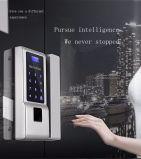 Segurança de impressão digital da fechadura da porta do cartão inteligente
