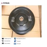 Het gewicht plateert de Goedkope Platen van het Gewicht van de Bumper voor Gewichten van de Platen van de Platen Weightlifting van de Platen van het Gewicht van de Verkoop de Olympische Rubber Olympische