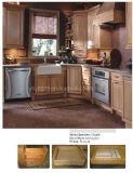 Gabinete de cozinha da madeira contínua do bordo (JX-KCSW021)