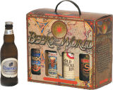 Sostenedor de papel del embalaje para la cerveza de 6 botellas (FP6068)