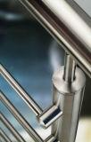 Postes de acero inoxidable para balaustrada de alambre y varilla