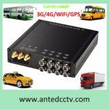4/8 GPS DVR die van het Voertuig van het Kanaal 1080P Mobiele WiFi 3G/4G volgt