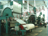 Machine de papier d'essuie-main de main et ligne comprimée de machines de tissu