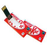 호리호리한 카드 USB 웨이퍼 카드 펜 드라이브 8GB 카드 USB