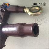 PVC上塗を施してある短い管のラチェットロードつなぎ