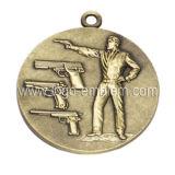 Пользовательские события спорта медаль старинной латуни оцинкованные строп предохранительного пояса имеющихся
