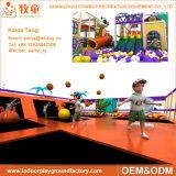 Equipamento interno comercial do campo de jogos do parque de diversões das crianças