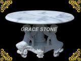 Мраморный верхняя часть таблицы, каменная таблица (GS-TB-515)