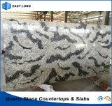 Pedra artificial da melhor venda para a superfície contínua com relatório do GV & certificado do Ce (cores de mármore)