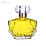 Bouteille de parfum en verre de forme irrégulière avec le pulvérisateur de pompe