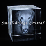 Baleia Laser 3D Crystal Cube (ND11087)