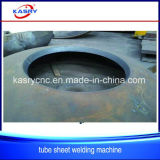 Machine van Drillingcutting van het Plasma van het Gat E CNC van /Lid van de Plaat/van de Schotel van het Drukvat de Hoofd Hoofd