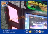 2017 9d 영화관 시뮬레이터를 서 있는 HTC Vive 헤드폰 게임 Vr 공간 걷는 가득 차있는 HD 스크린