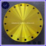 ASME B16,5 cego de RF no flange do tubo de aço Graxeiras