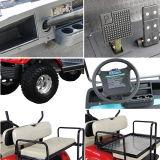 4 Seaterの電気ハンチングFoldable椅子が付いているおかしなゴルフバギー