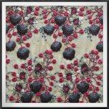 敏感なナイロン網の刺繍のLacetulleの刺繍のレース