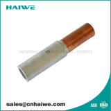 Gl Oil-Plugging engarce de aluminio tipo tubo conector a través de la funda del cable