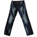 Monkey lavado Jeans Denim jeans de moda para hombres