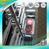 Verticale soulevant la tour mécanique de stationnement