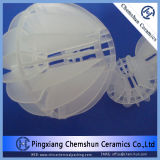 Water Treatment Equipment Packing를 위한 플라스틱 Polyhedral Hollow Ball