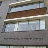 Panneau de balcon coloré par colle de fibre