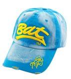 Gorras de béisbol lavadas el 100% del algodón (B-Z093)