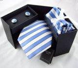 Les hommes de la soie Cravate Jacquard fixe