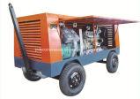 Compressore d'aria portatile della vite utilizzato per il ponticello rombante