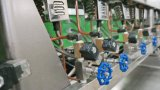 Compuesto de plástico de la máquina de llenado de Masterbatch agravando las máquinas de alta