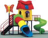 Sale Outdoor Plastic Outdoor Playground (A-126-2)のための幼稚園Children Outdoor Gym Plastic Exercise Playground Equipment