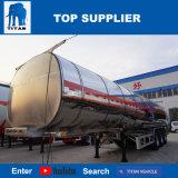 Титан Tri-Axle алюминия Tankercooking топлива нефтяного танкера прицепов