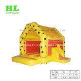 子供の跳躍のために小さいスライドを持つカスタマイズされたバナナ様式の膨脹可能な警備員を熱販売すること
