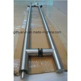 Manijas de puerta de cristal, manija de puerta de la palanca del acero inoxidable (HR1200D-1)