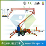 10m 12m Cheap van de la batterie montée Cherry Picker