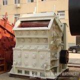 Effetto dei minerali metalliferi che schiaccia il macchinario edile ferroviario del frantoio della macchina