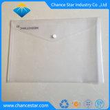 L'abitudine ha stampato il dispositivo di piegatura di archivio trasparente dello schiocco della plastica A5