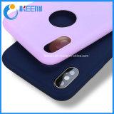 Color caramelo más reciente caso de iPhone X colorido suave de silicona TPU casos Teléfono