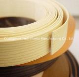Bordure foncée de PVC pour le contre-plaqué