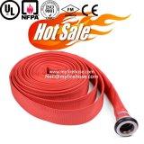 6-20 bar resistencia al envejecimiento de PVC tejido de algodón la manguera contra incendios